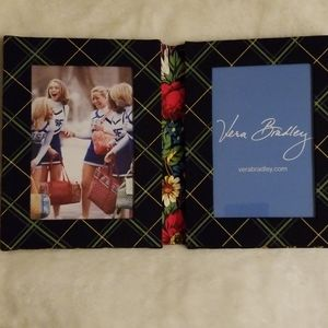 NWOT Vera Bradley Quilted Double Photo Frame